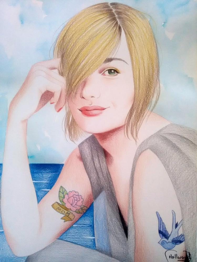 Romola Garai by Hallward